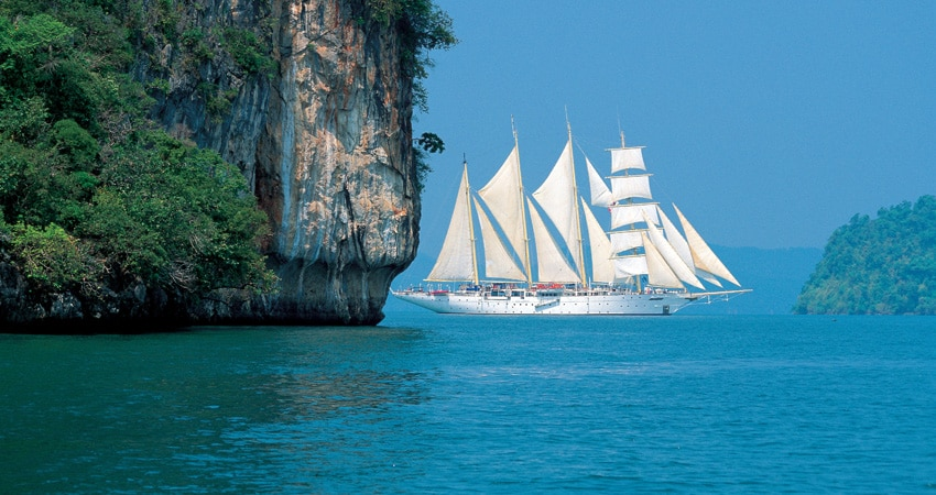 Großsegler über OceanEvent ganzjährig in Asien zur Charter