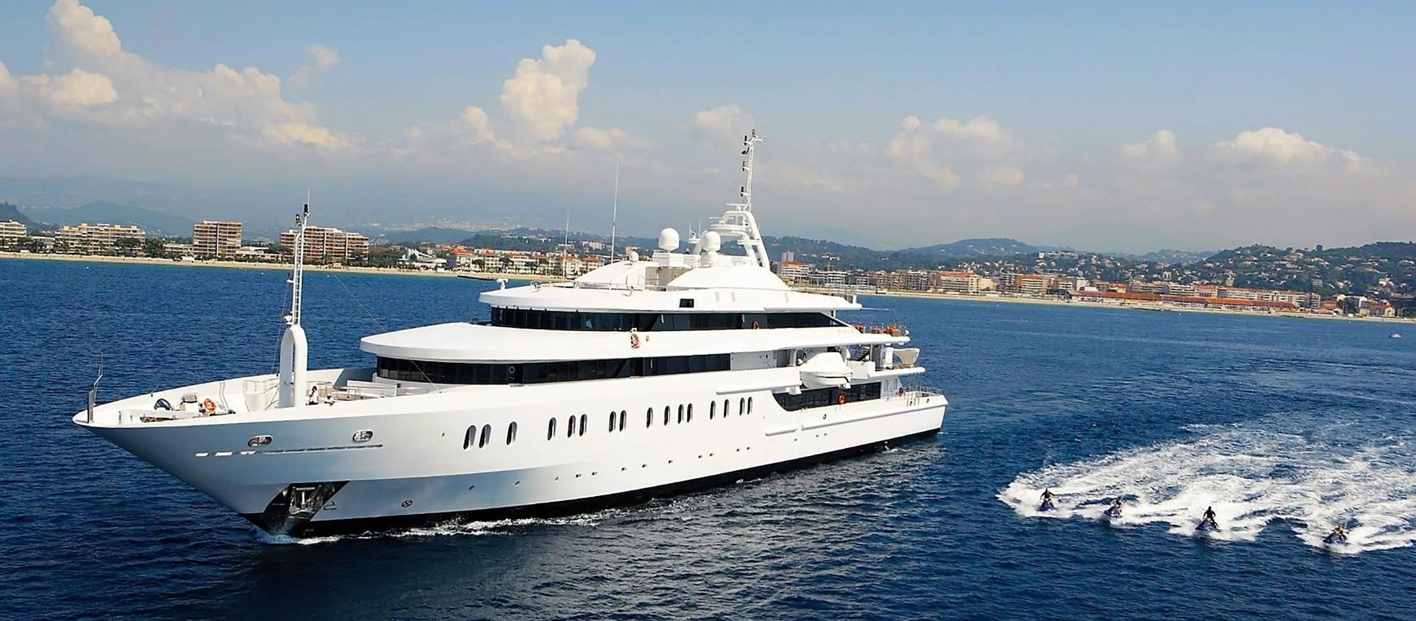 Alle Megayachten im OceanEvent-Portfolio sind ausgewählt, um mehr als die übliche Passagierzahl an Bord nehmen zu können.