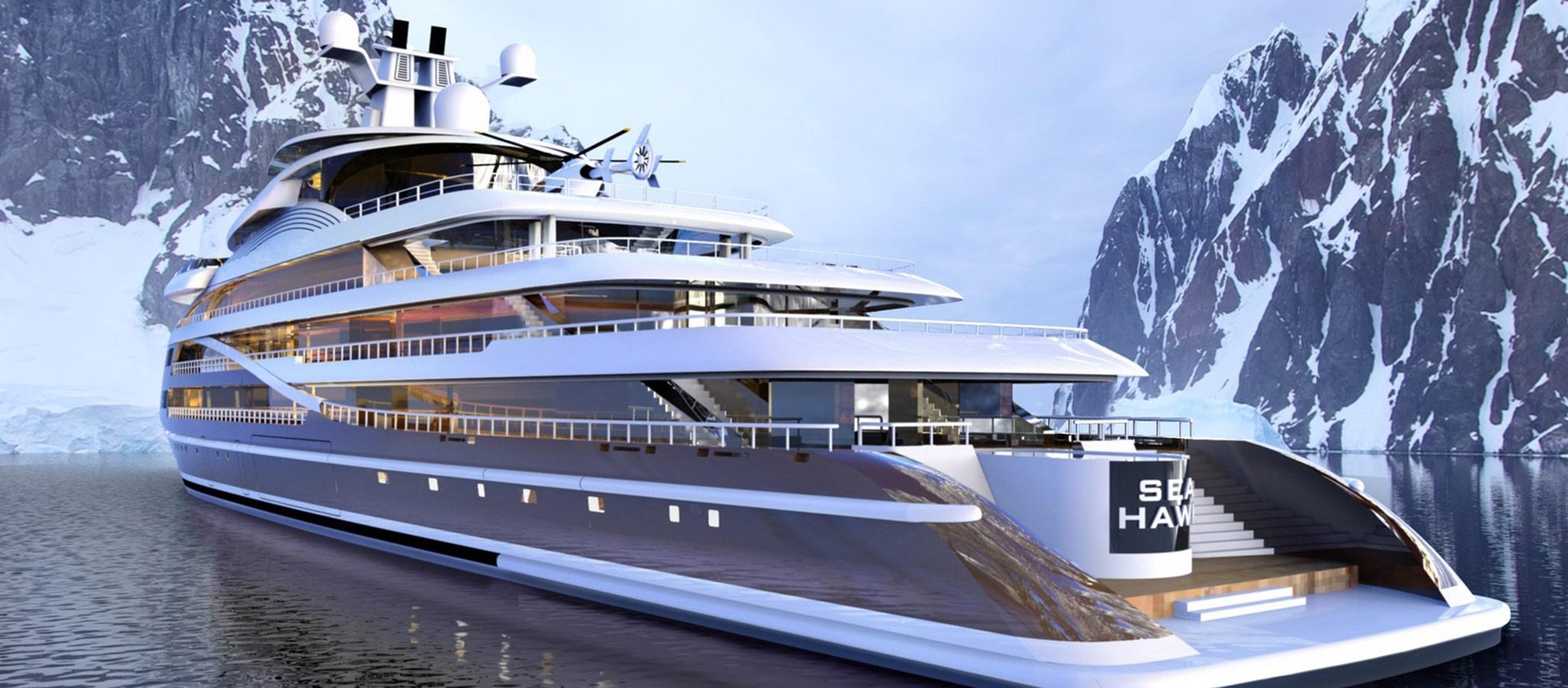 Schiffe der neuesten Generation überzeugen Eventplaner mit ihrem schnittigen Design. Und mit einer exklusiven Ausstattung, die von U-Booten bis zu Helikoptern reichen kann.
