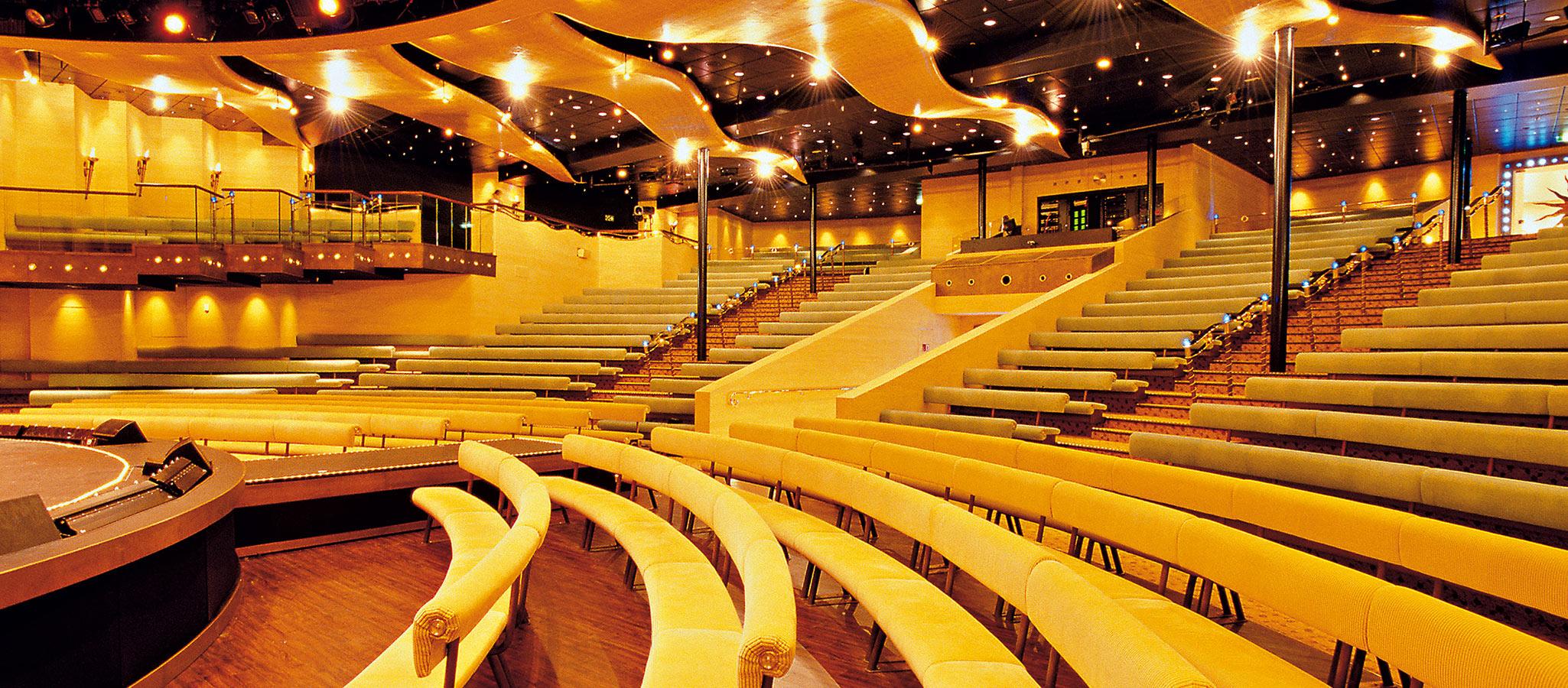 Sie verfügen über exzellente Tagungstechnik, modernste Licht- und Tonanlagen und lassen Ihre Konferenz in außergewöhnlichem Ambiente erstrahlen.