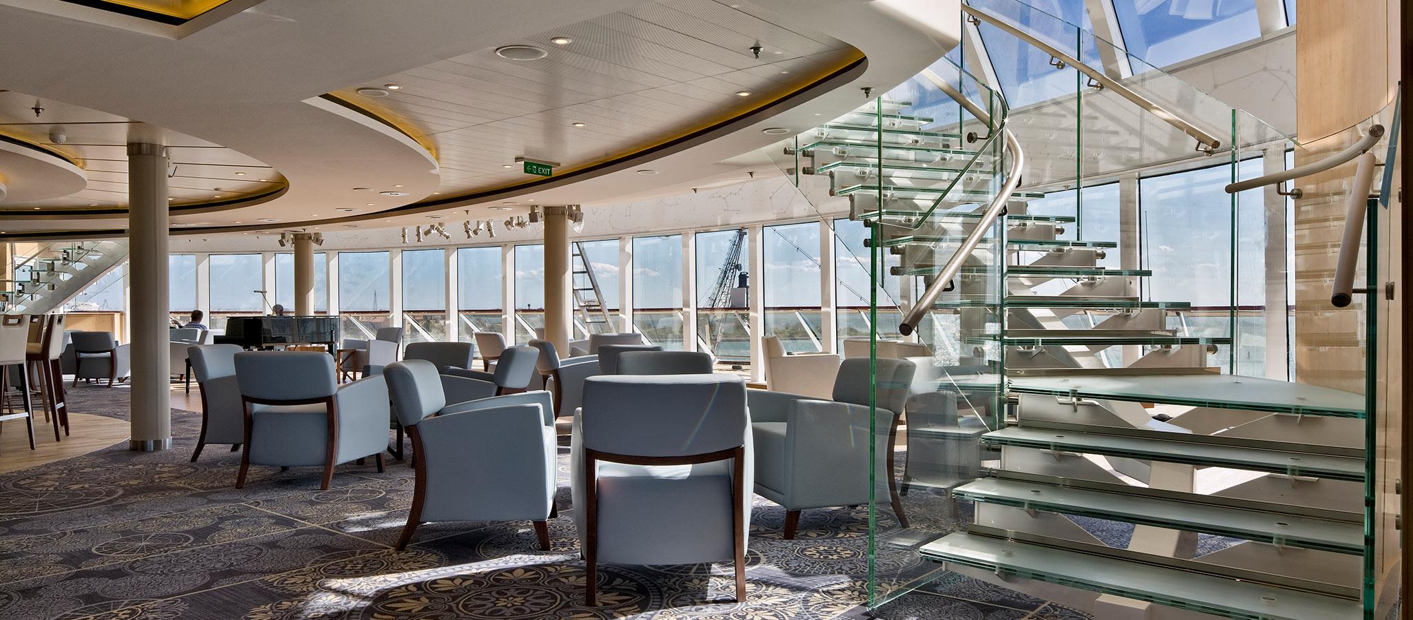 Meeting-Location mit Ausblick: Die Observation Lounge