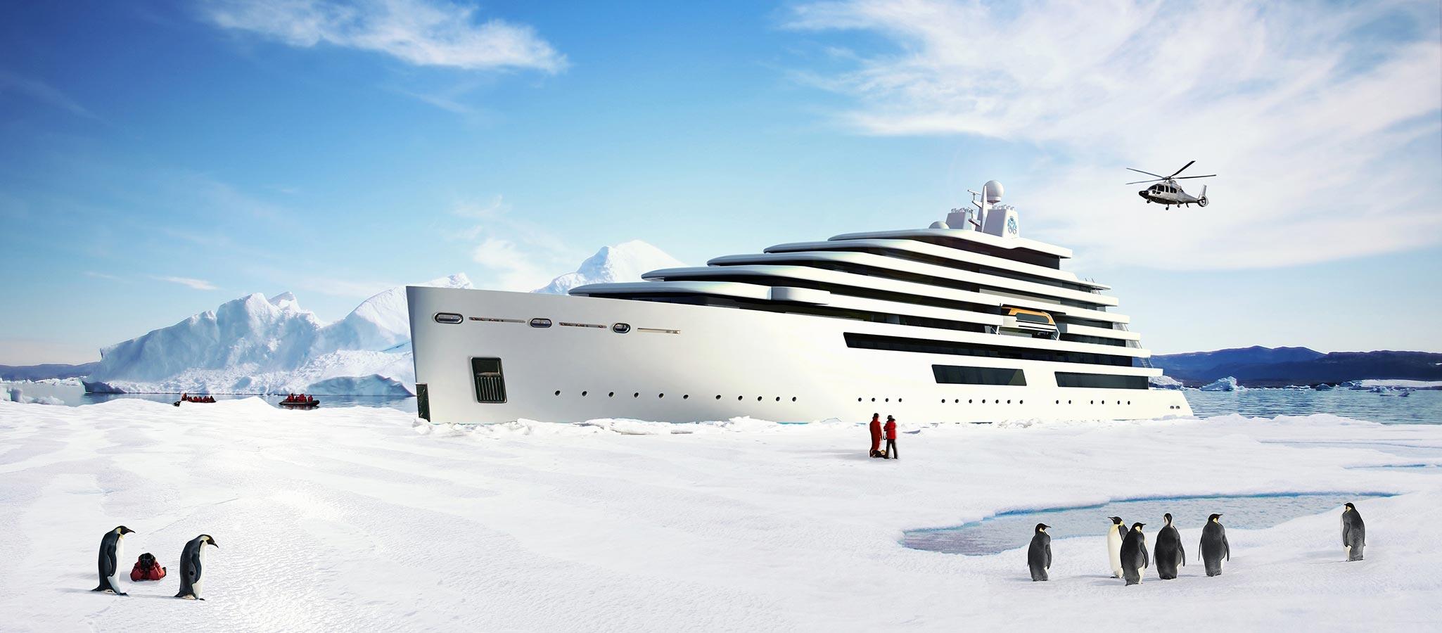 Discovery Yachten mit Eisklasse bringen Ihre Teilnehmer an Orte, die nicht viele Menschen vor Ihnen erleben durften.