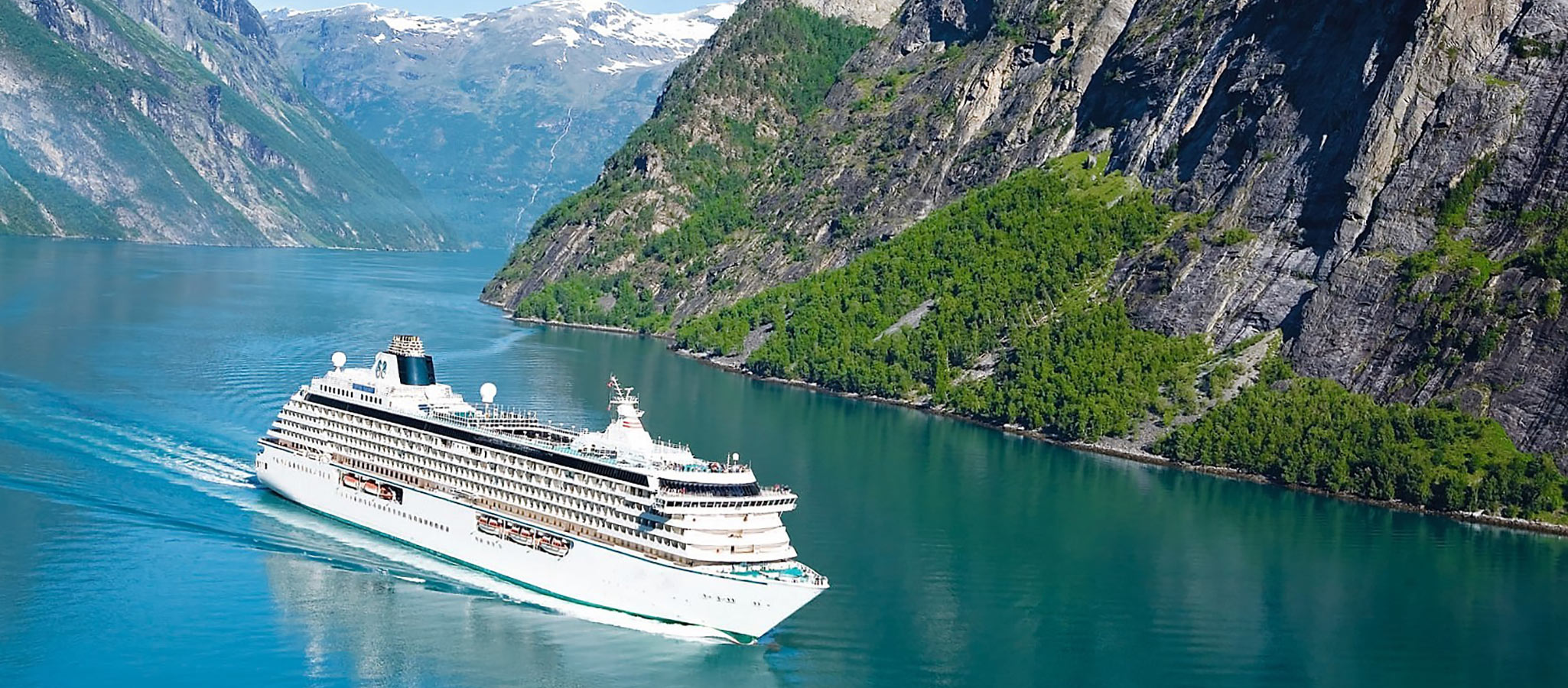 Most cruise ships in this category are traveling in northern Europe and the Mediterranean during the summer months, heading for the Canary Islands in the winter.