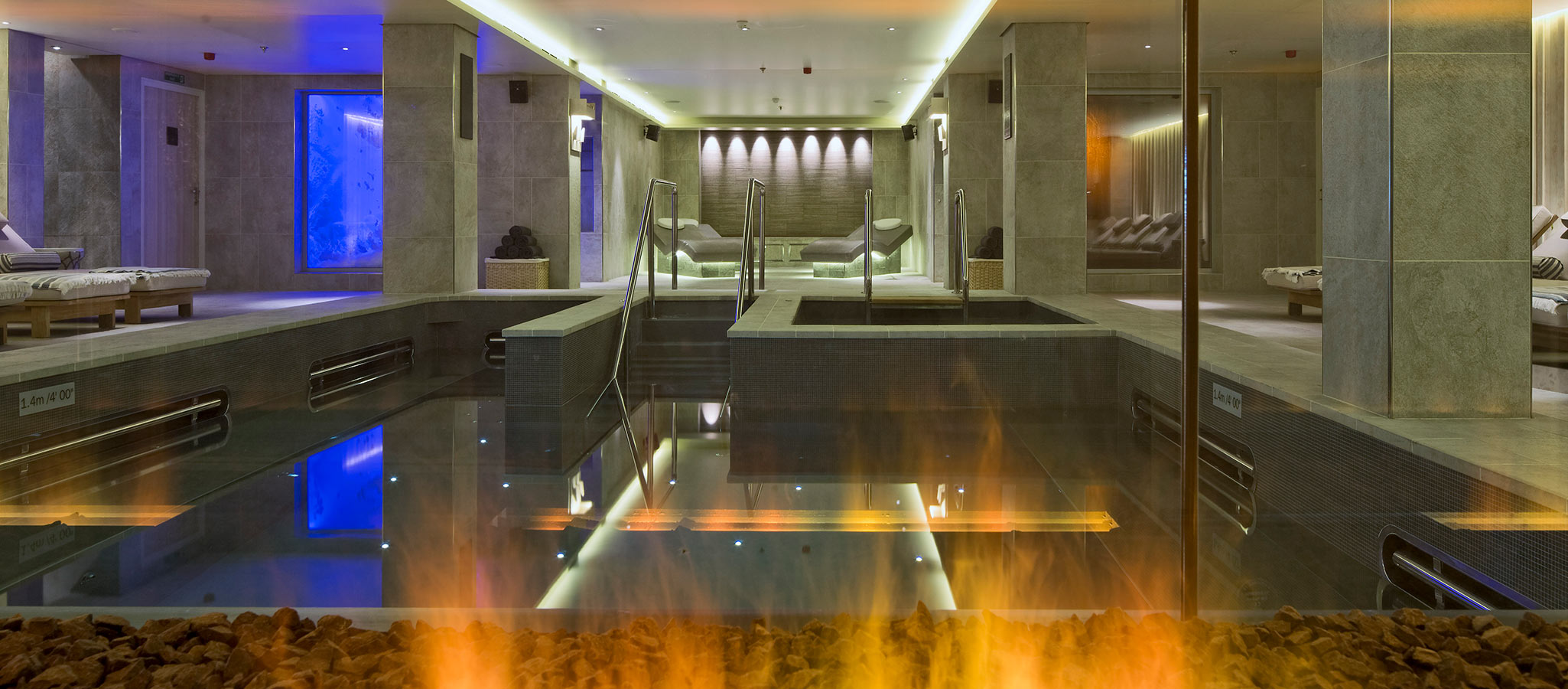 With a spa area of over 1,000 square meters on many ships, relaxation is accommodated for following a successful meeting.