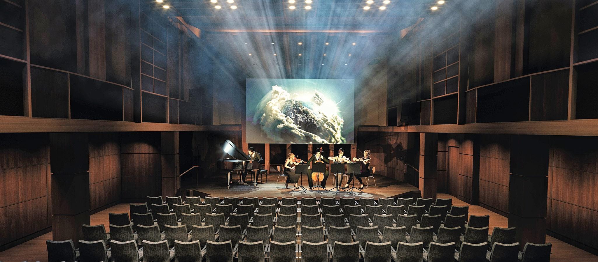 Für musikalische Highlights ebenso erbaut wie für Seminare und Vorträge - das Klanghaus mit einzigartiger Akkustik.