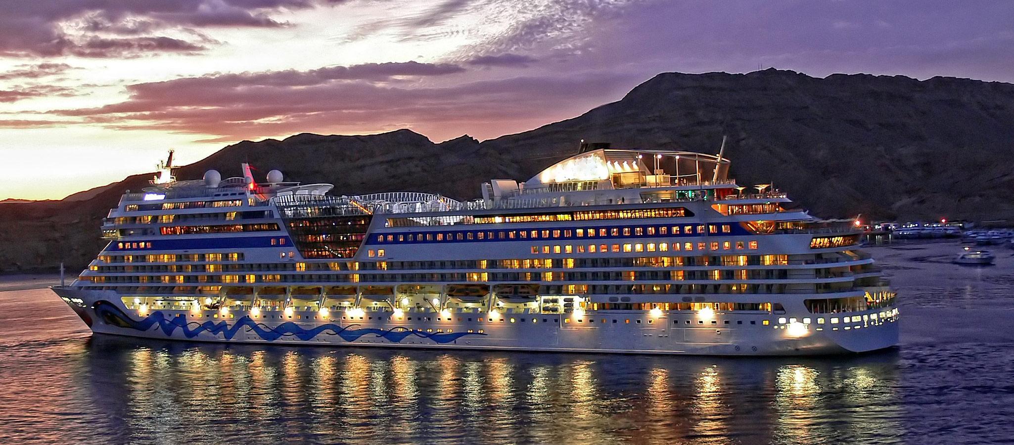 Selbst in dieser Schiffsgröße gelingt es OceanEvent, individuelle Routings für Ihr einzigartiges Event auf See zu kreieren.