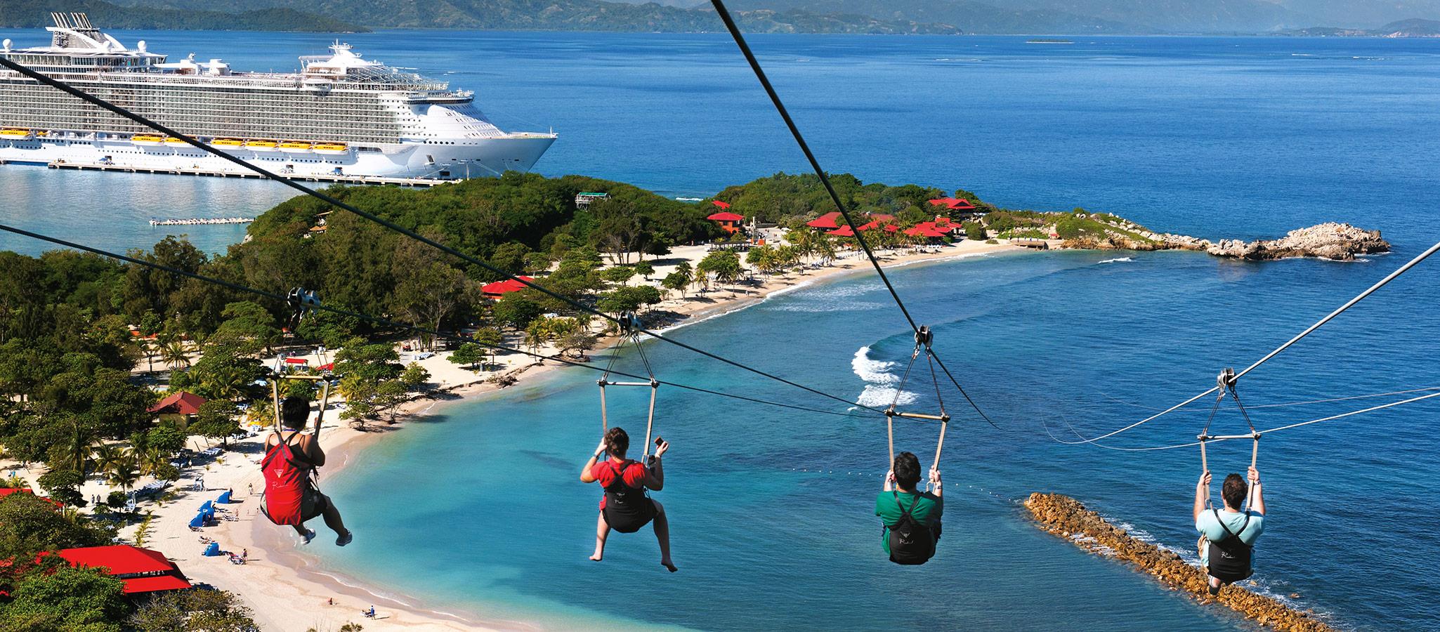 Viele Reedereien besitzen eigene Karibikinseln zur exklusiven Nutzung. Für Ihre Teilnehmer geht hier der Spaß weiter.