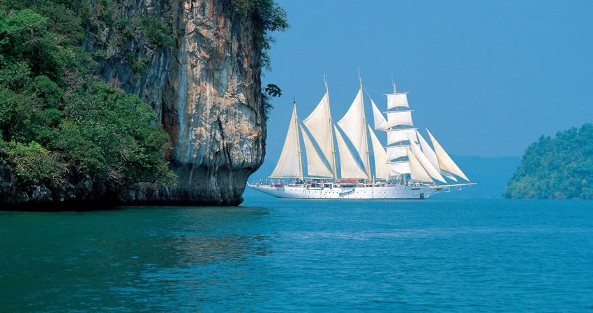 Kreuzfahrtsegler über OceanEvent zur Vollcharter