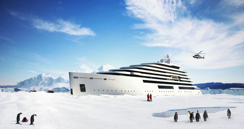 Expeditionsschiffe für Discovery Yachting von OceanEvent