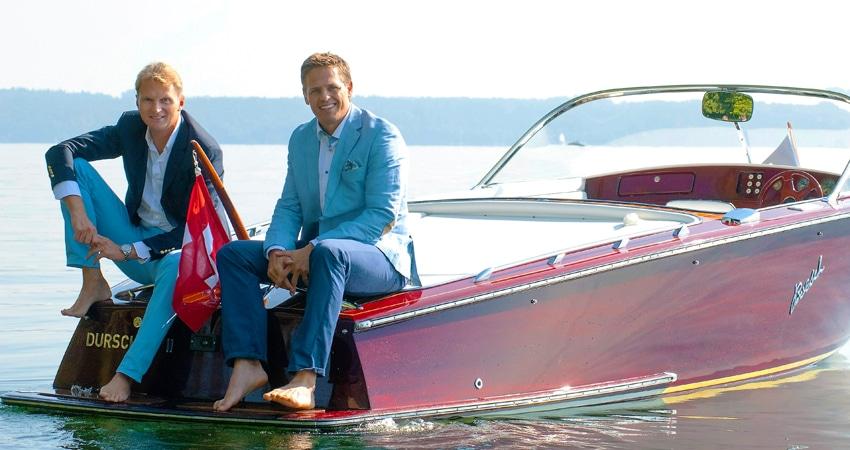Corsin Parolini und OceanEvent-Geschäftsführer Christian Mühleck