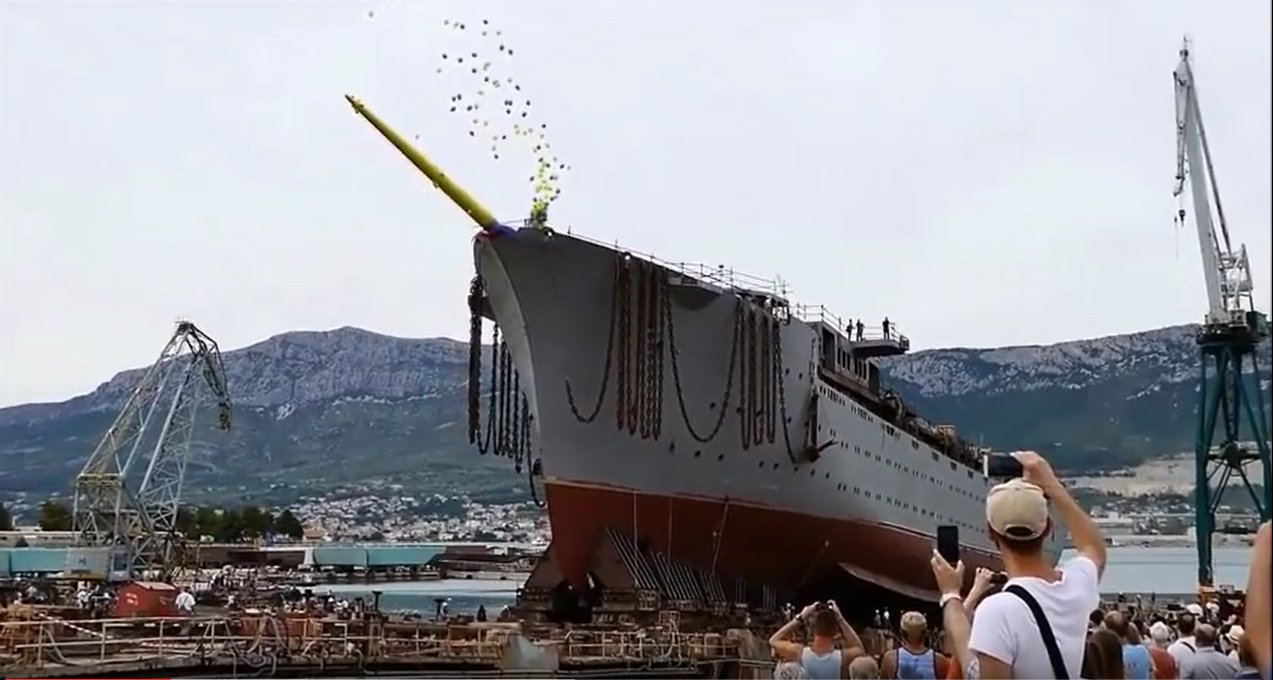 Größter Kreuzfahrtsegler der Welt bei OceanEvent - Stapellauf_FlyingClipper
