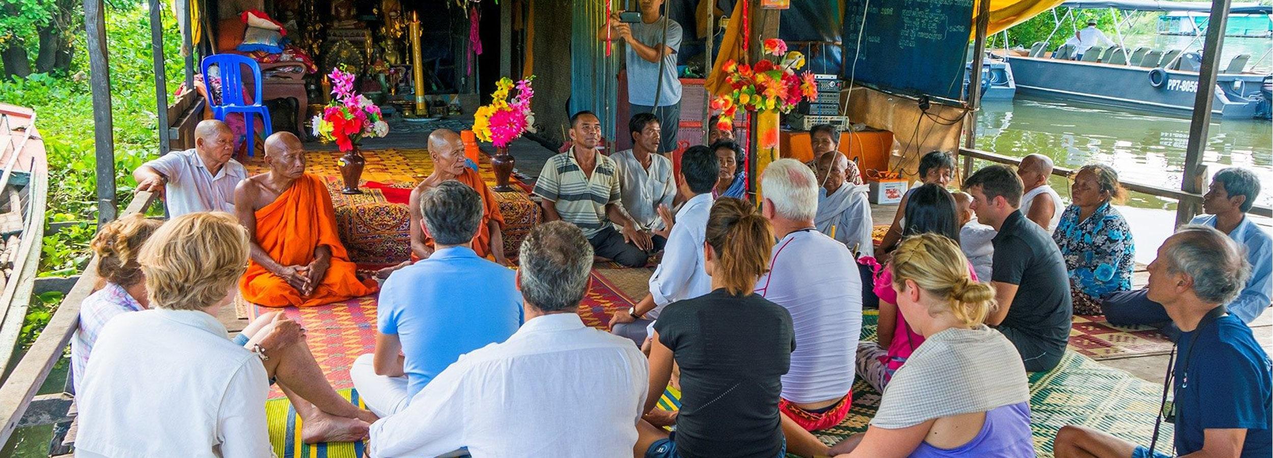 Hautnah in das Leben am Mekong River eintauchen - OceanEvent inszeniert einzigartige Rahmenprogramme für Ihr Flusskreuzfahrt-Incentive.