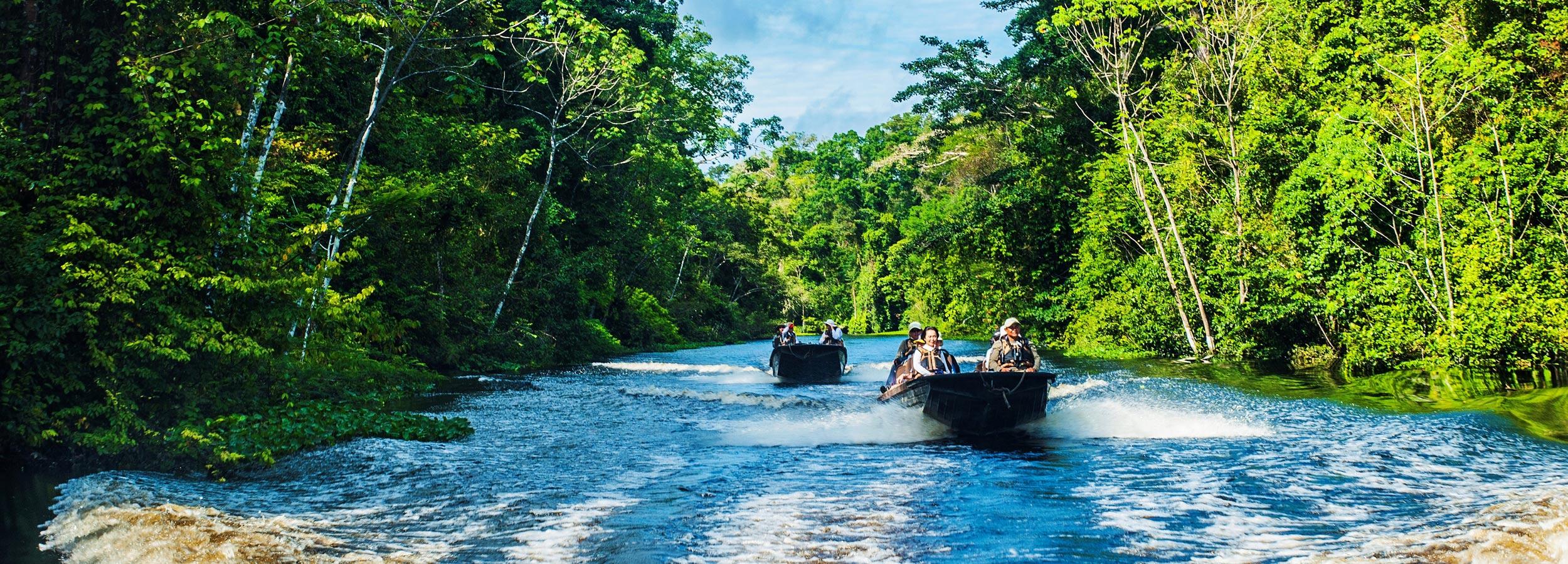 Mit den bordeigenen Tenderbooten und landeskundlichen Guides schicken wir Ihre Gäste auf Erkundungstour.