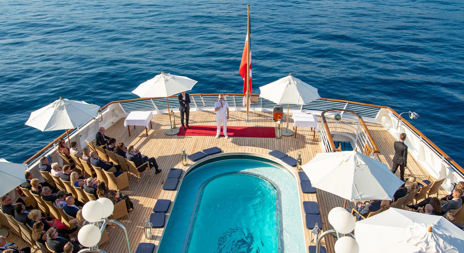 Schiff chartern für Eventlocation