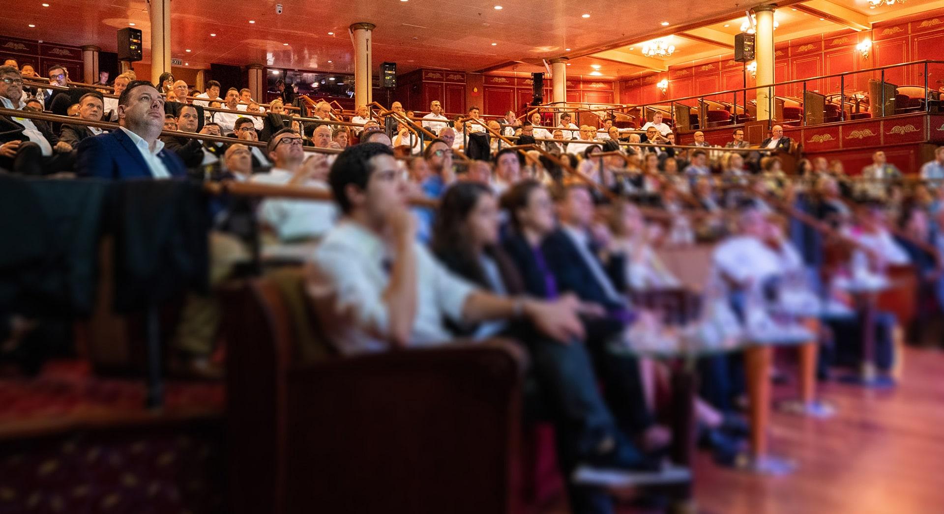 Konferenz auf Kreuzfahrtschiff